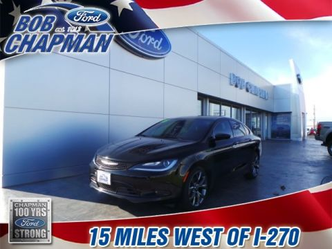 Pre-Owned 2015 Chrysler 200 S FWD 4D Sedan