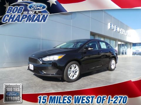 New 2017 Ford Focus SE FWD 4D Sedan