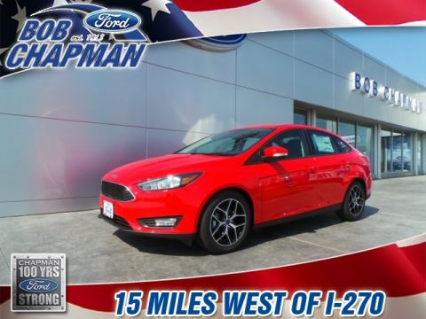 New 2017 Ford Focus SEL FWD 4D Sedan