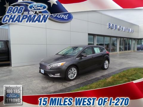 Pre-Owned 2017 Ford Focus Titanium FWD 4D Hatchback