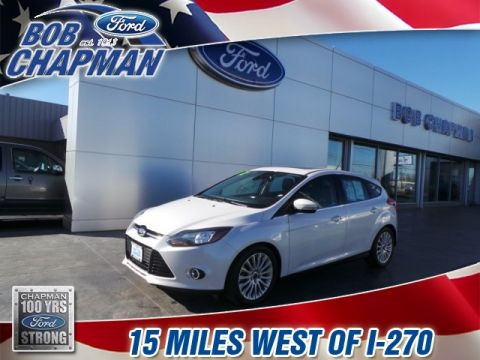 Pre-Owned 2012 Ford Focus Titanium FWD 4D Hatchback
