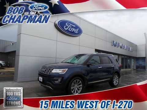 Pre-Owned 2017 Ford Explorer Limited AWD