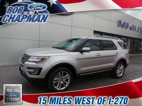 New 2017 Ford Explorer Limited AWD