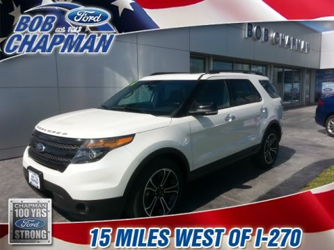Pre-Owned 2014 Ford Explorer Sport AWD