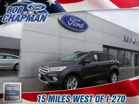 New 2018 Ford Escape SEL 4WD