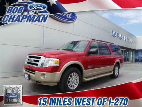 Pre-Owned 2008 Ford Expedition EL Eddie Bauer 4WD