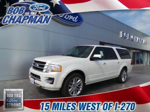 New 2017 Ford Expedition EL Limited 4WD