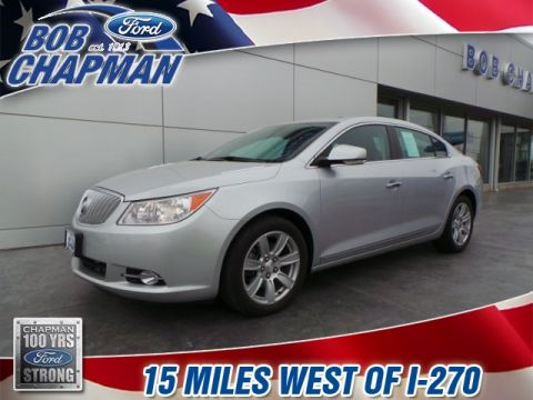 Pre-Owned 2010 Buick LaCrosse CXL FWD 4D Sedan