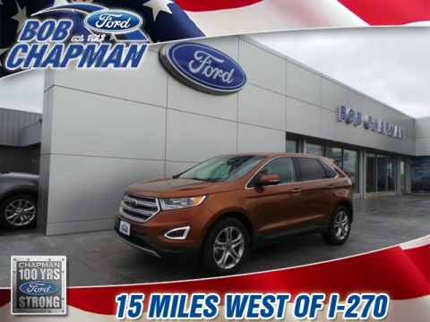 Pre-Owned 2017 Ford Edge Titanium AWD