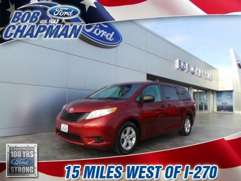 Pre-Owned 2012 Toyota Sienna Base FWD 4D Passenger Van