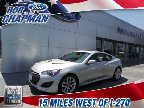 Pre-Owned 2013 Hyundai Genesis Coupe 2.0T Premium RWD 2D Coupe
